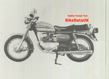 Honda CD185T Benly (1978 >>) Factory Dealer PDI Set-Up Manual CD 185 T Twin CG96