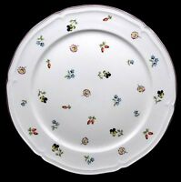 Villeroy and Boch Petite Fleur Chop Plate Miniature Flowers China Round Platter