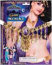 Gem Necklace Desert Princess Belly Dancer Arabian Halloween Costume Accessory