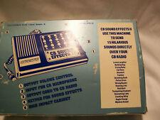 Cb Sound Effects By Electronics Plus Etx-15 (4S) Nip