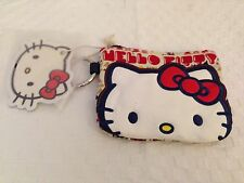 New Rare Sanrio Hello Kitty Loungefly Triangle Coin Purse-Wallet