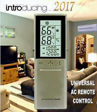 Universal A/C Remote Fit Most Carrier, Daikin, Gree, Haier, Mitsubishi, Sanyo +