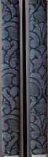 Refrigerator Oven Door Padded Handle Covers Charcoal Design Set of Two