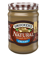 Smucker's Creamy Natural Peanut Butter