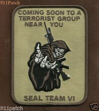 JOINT TERRORISM POLICE TASK FORCE LAW ENFORCEMENT SEAL TEAM REAPER PATCH