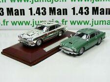 Lote 2 Coches 1/43 IXO : Aston Martin DB4 Coupe Y DB4 Silver-Cars