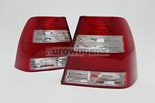 VW Bora Jetta GLI 98-05 Clear Rear Tail Lights Lamps Pair Set Left Right US Look