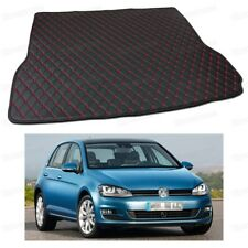 PU Leather Car Trunk Mat Cargo Pad Carpet Fit for Volkswagen Golf 2013-2018