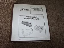 Bobcat IR 84 Inch Angle Broom Versahandler Attachment Shop Service Repair Manual