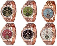 Mechanische Armbanduhren (Handaufzug) aus Edelstahl für Damen
