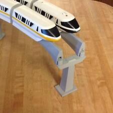 Double Track adapter for Disney Monorail Set Allows two tracks on one support