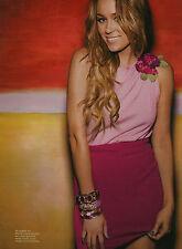 Lauren Conrad 6pg + cover SEVENTEEN magazine feature, clippings
