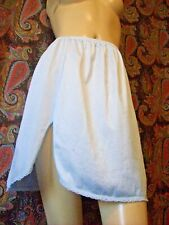 Vintage Vassarette Blue Silky Nylon Mini Half Slip Lingerie M