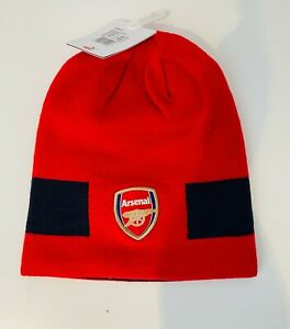 Arsenal Hat beanie reversible Knitted Ski Hat Red Official product One Size Puma