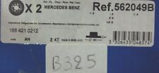 B325 - BENDIX 562049B - COPPIA DISCHI FRENO ANT. MERCEDES CLASSE A 1684210212