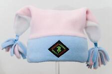 Pastel Pom-Pom Designer Fleece Ski and Outdoor Hat by Original Lizard