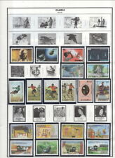 Zambia On Harris Album Pages-1972-2005 Many MNH in Mounts