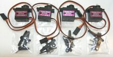 TOWER PRO TYPE  Mg90s 9g metal geared micro servos quantity 4 new + accessories