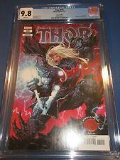 Thor #10 Lashley Knullified Variant CGC 9.8 NM/M Gorgeous gem Wow