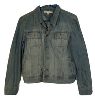 Tommy Hilfiger Jean Denim Jacket Faded Blue Size XL Vintage