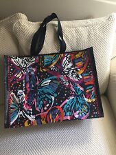 Vera Bradley Market Tote Butterfly Flutter Breast Ca Awareness Item