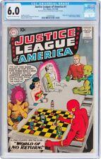 Justice League of America #1 CGC 6.0 DC 1960 Superman! Batman! Flash! G7 122 cm