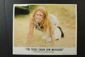 LOT # 5: SET of 8 REPRODUCTION HORROR MOVIE LOBBY CARDS~TEXAS CHAINSAW MASSACRE~
