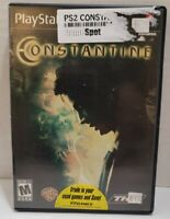 Constantine (Sony PlayStation 2, 2005) ps2 Complete CIB