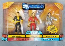 DC Universe Infinite Heroes with Black Adam Shaam Mary Marvel Figures three pack