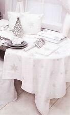 Blanc Mariclo' Tovaglia ricamata rettangolare cotone 100