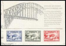 Australia Replica Card #23 Sydney Harbour Bridge Opening Die Proof
