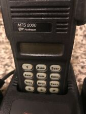 Motorola MTS2000 Model III Radio H01UCH6PW1BNw/Battery,Charger,Antenna,Ac-No Mic
