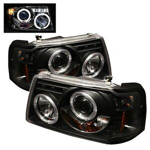 Spyder Auto 5010490 Halo LED Projector Headlights Fits 01-11 Ranger