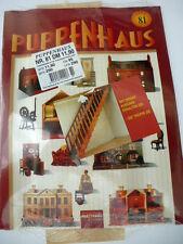 Del Prado Puppenhaus rote Serie Heft 81 / NEU / OVP / Maßstab 1:12 / Spielhaus