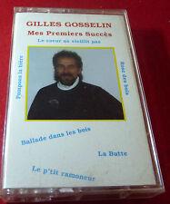 Cassette Audio Gilles Gosselin Mes Premiers Succès ! Canada Records Album