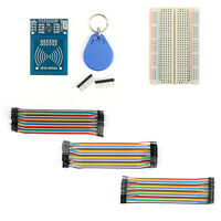 RC522 Card Read Antenna RF Module +400 P Breadboard+120Pcs Jump Wire M/F BK