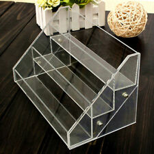 3 Tiers Acrylic Nail Cosmetic Display Case Rack Nails Polishs Displays*