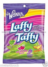 WONKA^* 4.2 oz Bag LAFFY TAFFY Candy/Candies FRUITY FLAVORS Chewy Exp. 1/18+ New