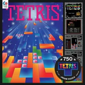 Ceaco Puzzle Tetris- Gaming Poster New