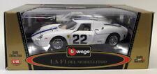 BURAGO 1/18 Scale Diecast FERRARI 250 Le Mans la f1 del modellismo RACE CAR