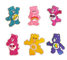 Care Bears Iron on embroidery patches 10 to choose from