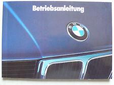 Manual de instrucciones-BMW e34 - 520i, 525i, 530i, 535i, 524td, 8.1989, 124 páginas