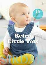 Sirdar Baby Bamboo Retro Little Tots Book 521 15 Designs for 0-3 Years