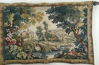 """Stunning! Landscape Wool Jacquard Tapestry made in Belgium 55"""" x 35.5"""