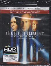 THE FIFTH ELEMENT 20th ANN. 4K ULTRA HD & BLURAY & DIGITAL SET with Bruce Willis