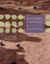 Systems Analysis and Design Methods by Jeffrey L. Whitten and Lonnie D. Bentley