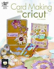 Card Making with Cricut by Fox, Tanya Paperback Book Magazine