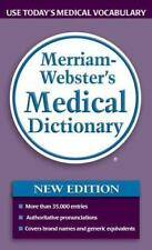 Merriam-Webster's Medical Dictionary New Edition ©2006 *FREE Shipping*