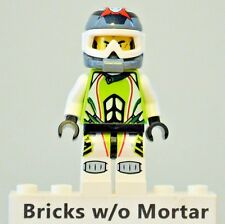 New Genuine LEGO Team X-treme Daredevil 1 REX-treme World Racers 8864 8896
