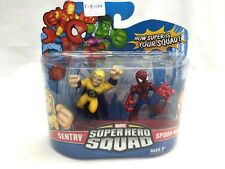 Hasbro Marvel Super Hero Squad Sentry & SpiderMan Figures New